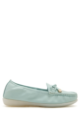 PAZZION blue Casual Loafer PA624SH04UKTMY_1