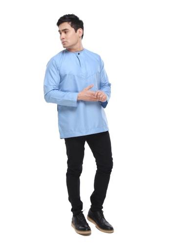 Amar Amran blue Kurta Al Amin 2.0 10671AA6159538GS_1