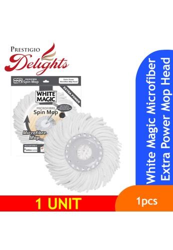Prestigio Delights White Magic Microfiber Extra Power Mop Head A83E4ES6E21E1FGS_1