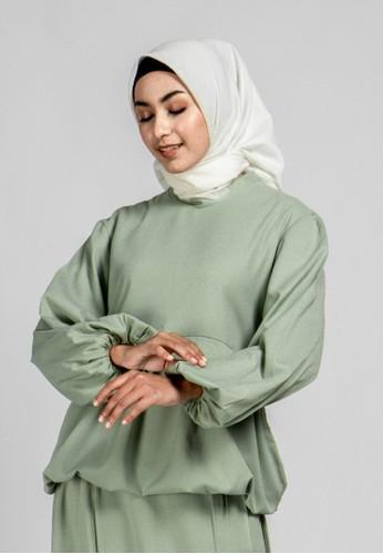 TUNIQUE green Tunique - Nicolle Blouse C8C27AA33CD540GS_1