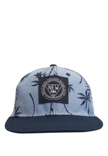 DeFacto blue Printed Baseball Hat E77BDKC4922BF5GS_1