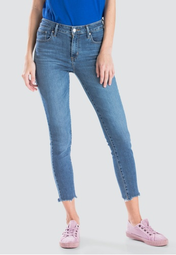 Levi s blue Levi s Womens 721 High Rise Skinny Ankle Jeans 22850-0033  58F17AA7ABB231GS 1 5e4d919d8