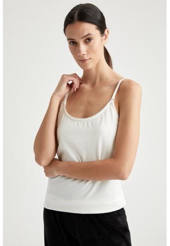 DeFacto white Woman Underwear Athlete 0F6D6AAEA1E86BGS_1