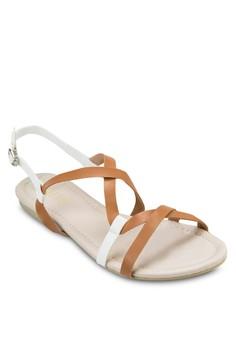 Abbie Curve Straps Sandals