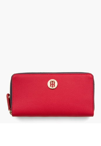 c2ab6043248c9 Tommy Hilfiger red TOMMY CHAIN LRG ZA WALLET D7850AC1594A01GS 1