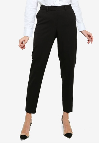 Sacoor Brothers black Classic Slim Fit Woman Pants A4253AA5C2FC5CGS_1