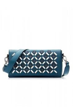 Blue Junia Shoulder Bag