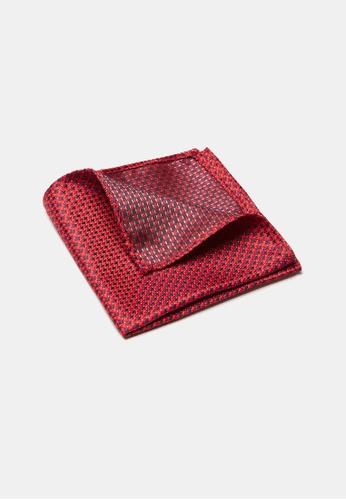Buckle red Cross Pocket Square 94E40AC55147E1GS_1