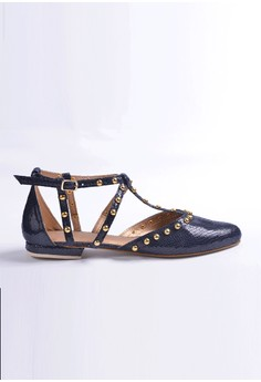 Manna Soles' Delilah Dark Blue Shoes