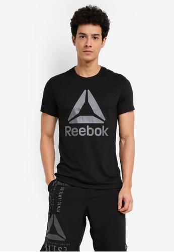 Reebok black Workout Ready Supremium 2.0 Tee RE691AA0SW1JMY_1
