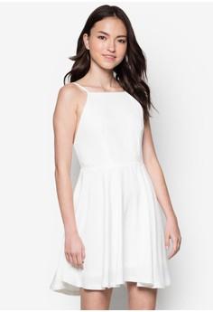 Love Multiple Straps Back Fit& Flare Dress