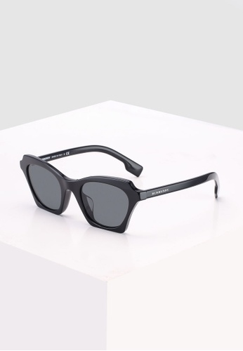Burberry black Burberry BE4283F Sunglasses B0661GL8207A3BGS_1