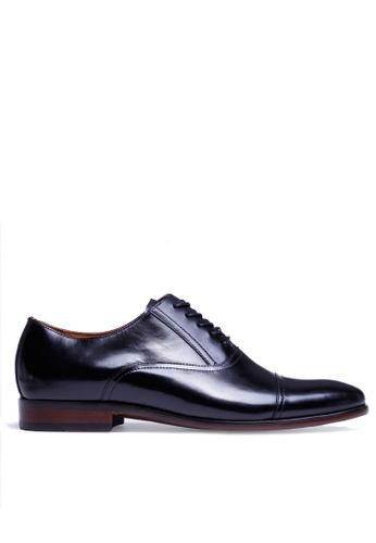 Twenty Eight Shoes 黑色 英式紳士真皮牛津鞋MC1607 0251CSH4AA245FGS_1