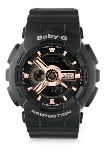 Baby-G black Women Analog Watches Ba-110Rg-1Adr 40B88ACFB853DCGS_1
