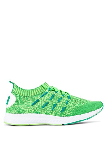 Louis Cuppers green Knitted Sneakers LO977SH04REDMY_1
