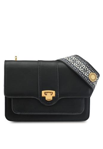 Mango black Embroidered Handle Bag 71CFEAC94F5919GS_1