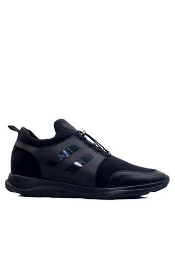 Twenty Eight Shoes 黑色 內增高輕便鞋 VM7702 5EEB6SH220D376GS_1