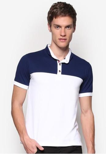 對比色拼貼 POLO 衫, 服飾, Poloesprit暢貨中心衫