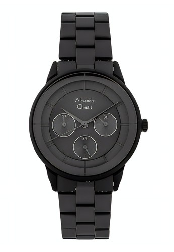 Alexandre Christie black Alexandre Christie Jam Tangan Wanita - Black - Stainless Steel - 2714 BFBIPBA 159E2ACFD32575GS_1