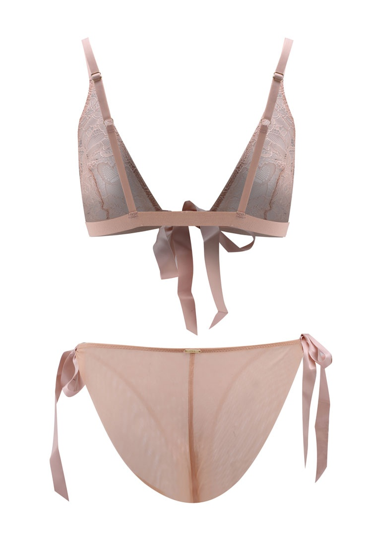 Rose Dust Bluebella Tie Brief Front Side Tabitha Tie And Bra xq6FxTw8
