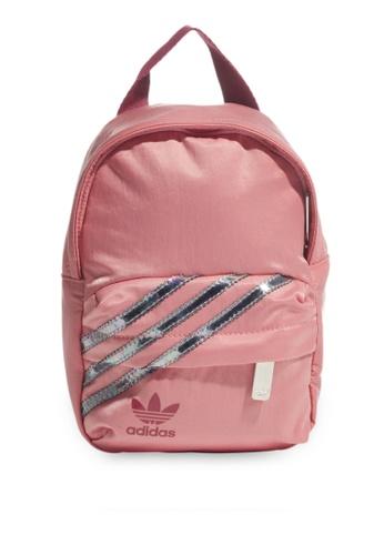 ADIDAS pink mini backpack 53B02AC6F0F6D6GS_1