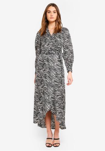 dc76b6f546a1 Buy Dorothy Perkins Zebra Maxi Dress Online on ZALORA Singapore