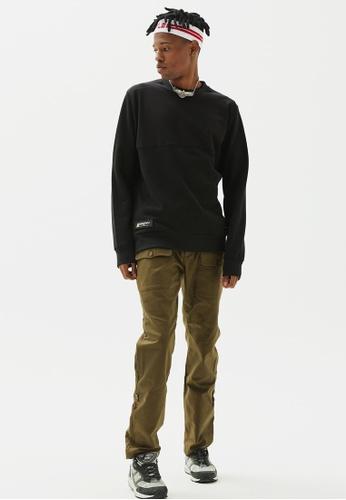 AlphaStyle black Cormorant Sweatshirt 7B4DCAA70C0DF9GS_1