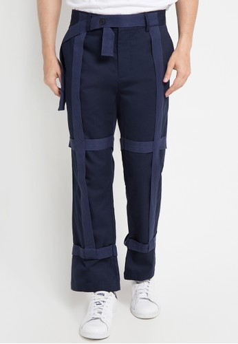 (X) S.M.L navy Maximo Pants XS330AA0WE9AID_1