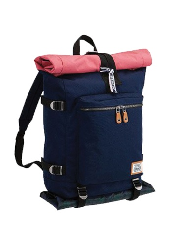 Coleman blue Journey Roll Top Backpack 03B36AC1616194GS_1