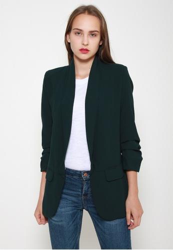 Leline Style green Sheila Chic Blazer 071F9AA88BD5BEGS_1