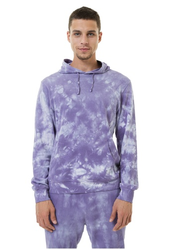 MAHA YOGI Nebula Hoodie - Lilac D627CAA63B3162GS_1