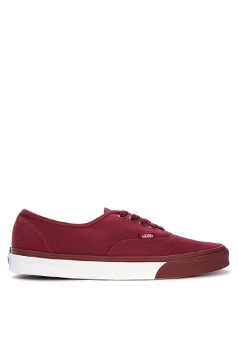 VANS red Authentic Sneakers D5D23SHE5331F6GS_1