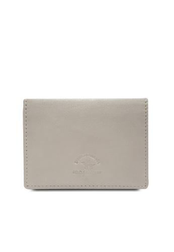 Santa Barbara Polo & Racquet grey Santa Barbara Polo & Racquet Club Leather Cards Holder 245DAAC18F7FF4GS_1