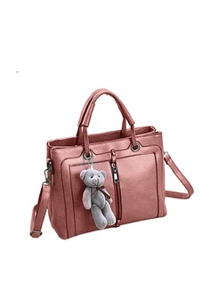 New Korean Style 2 Compartment Handbag with Shoulder Strap