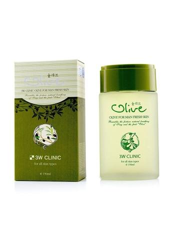 3W Clinic 3W CLINIC - Olive For Man - Fresh Skin 150ml/5oz  1B7D5BE22BAB2AGS_1