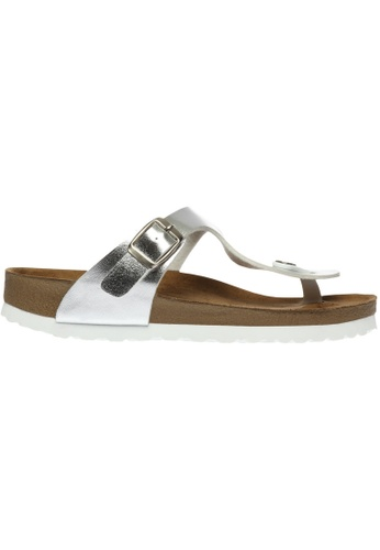 paperplanes silver SNRD-217 Casual Summer One Belt Flip-Flop Sandals Shoes US Women Size PA355SH96QNRSG_1