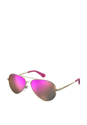 Polaroid Kids gold PLD 8015/N/New Sunglasses 50878KC483124BGS_1