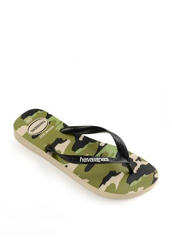 Havaianas green Top Camu Flip Flops 9444DSH49B907CGS_1