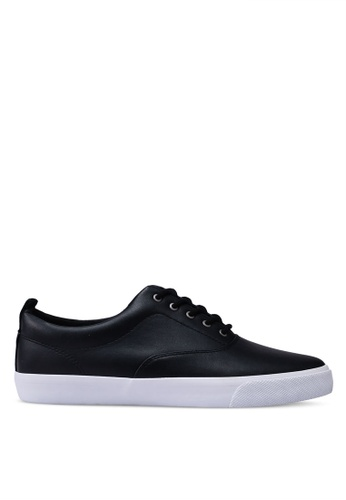Call It Spring black Dunn Lace Ups Sneakers A506ASH0A3D815GS_1