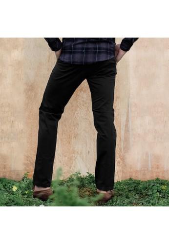 SCOTCH&CO black Celana Panjang Pria Chinos Casual Slim Fit Stretch Campbell Chino Pants Black  22540-41-32223 2B0D1AAFB94BD7GS_1