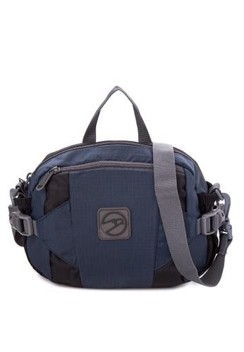 Hawk black Plain Belt Bag With Durashield Fabric 4774 - HWK HA267AC71GQMPH_1