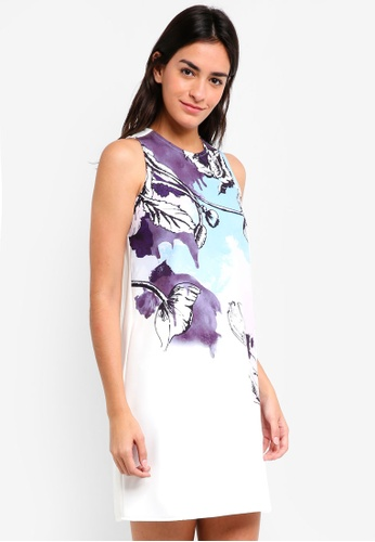 ZALORA multi Bold Floral Printed Dress 6DE67AA6440ECAGS_1