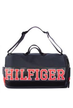 2ddc2909 Tommy Hilfiger multi Varsity Nylon Duffle Bag 8C33AACF663B46GS_1
