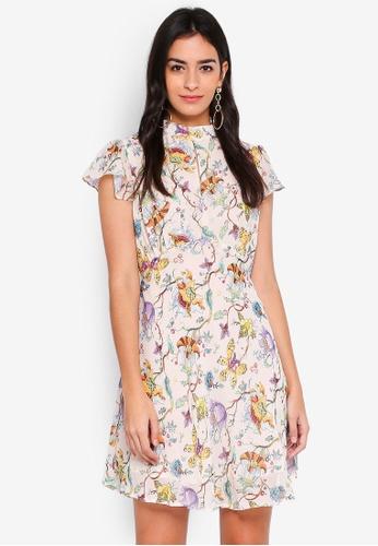 Glamorous multi Floral Skater Dress CE374AA02B2D9DGS_1