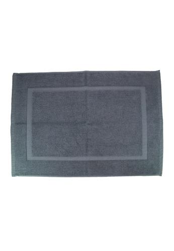 Martex SET OF 2 Martex (USA) RIVAGE 100% Combed Cotton Terry Bath Mat / 50 x 70cm/294g. 8A359HLA220C02GS_1