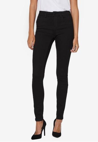 Noisy May black Jen Shaper Skinny Jeans 81B46AA4A947DEGS_1