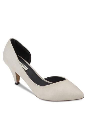 側鏤空尖頭高跟鞋、 女鞋、 鞋Nose側鏤空尖頭高跟鞋最新折價
