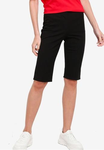 ck Calvin Klein black BI-STRETCH CROPPED PANTS B6549AA05C5DF5GS_1