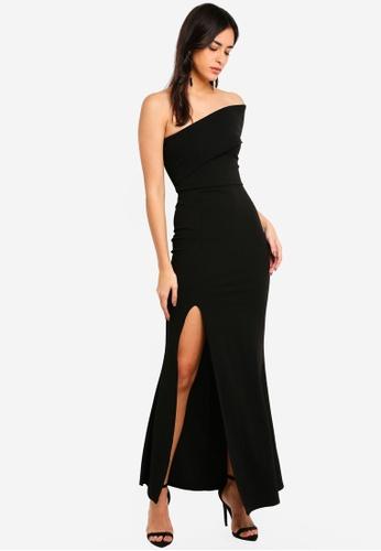 d63b3bbc25b Black One Shoulder Maxi Dress Uk – Little Black Dress | Black Lace ...
