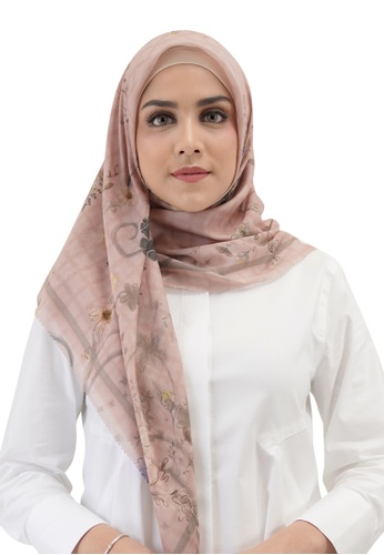 Buttonscarves pink Buttonscarves Sofya Voile Square Kofte E031BAA31B50DDGS_1